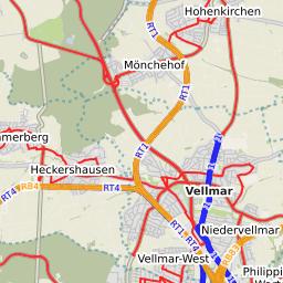 RegioTram KasselInnenstadtBaunatalGroenritte Linie Plus Extern