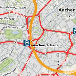 Aachen Westbahnhof zum neuen Hauptbahnhof machen Linie Plus Extern