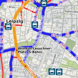 UBahnhof Leipzig Hauptbahnhof Stadtbahn Leipzig Linie Plus Extern